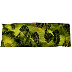 Olive Seamless Camouflage Pattern Body Pillow Case Dakimakura (two Sides) by Nexatart