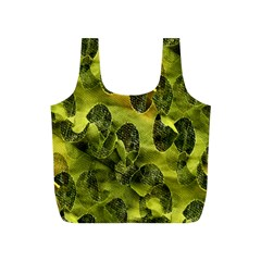 Olive Seamless Camouflage Pattern Full Print Recycle Bags (s)  by Nexatart