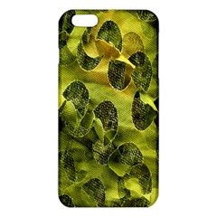 Olive Seamless Camouflage Pattern Iphone 6 Plus/6s Plus Tpu Case by Nexatart