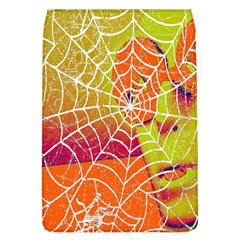 Orange Guy Spider Web Flap Covers (l)  by Nexatart