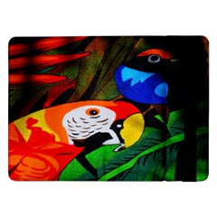 Papgei Red Bird Animal World Towel Samsung Galaxy Tab Pro 12 2  Flip Case