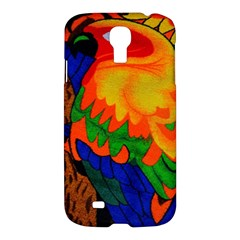 Parakeet Colorful Bird Animal Samsung Galaxy S4 I9500/i9505 Hardshell Case