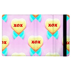 Pastel Heart Apple Ipad 2 Flip Case