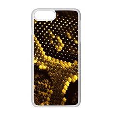 Pattern Skins Snakes Apple Iphone 7 Plus White Seamless Case