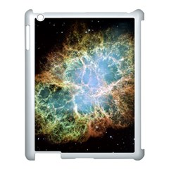 Crab Nebula Apple Ipad 3/4 Case (white) by SheGetsCreative
