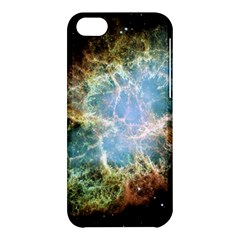 Crab Nebula Apple Iphone 5c Hardshell Case by SheGetsCreative