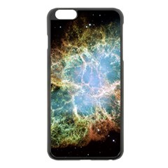 Crab Nebula Apple Iphone 6 Plus/6s Plus Black Enamel Case by SheGetsCreative