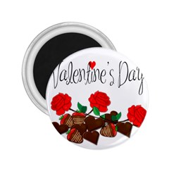 Valentine s Day Gift 2 25  Magnets by Valentinaart