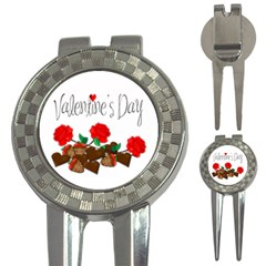 Valentine s Day Gift 3 In 1 Golf Divots by Valentinaart