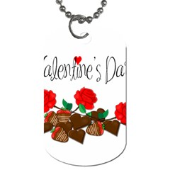 Valentine s Day Gift Dog Tag (one Side) by Valentinaart