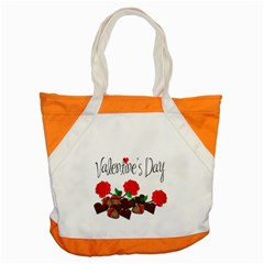 Valentine s Day Gift Accent Tote Bag by Valentinaart