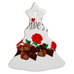 Valentine s Day Gift Ornament (christmas Tree)