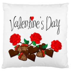 Valentine s Day Gift Standard Flano Cushion Case (one Side) by Valentinaart