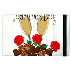 Valentine s Day Romantic Design Apple Ipad 2 Flip Case