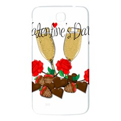 Valentine s Day Romantic Design Samsung Galaxy Mega I9200 Hardshell Back Case by Valentinaart
