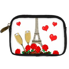 Romance In Paris Digital Camera Cases by Valentinaart