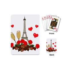 Romance In Paris Playing Cards (mini)