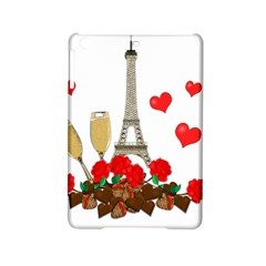 Romance In Paris Ipad Mini 2 Hardshell Cases by Valentinaart