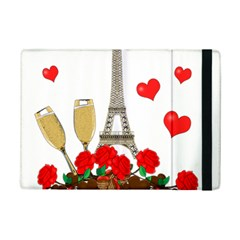Romance In Paris Ipad Mini 2 Flip Cases by Valentinaart