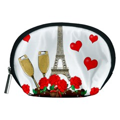Romance In Paris Accessory Pouches (medium)  by Valentinaart