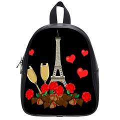 Pariz School Bags (small)  by Valentinaart
