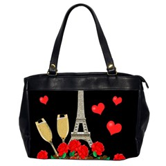 Pariz Office Handbags (2 Sides)  by Valentinaart
