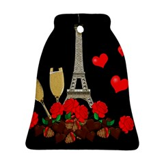 Pariz Bell Ornament (two Sides) by Valentinaart