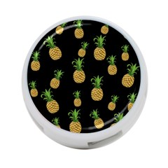 Pineapples 4 Port Usb Hub (one Side) by Valentinaart