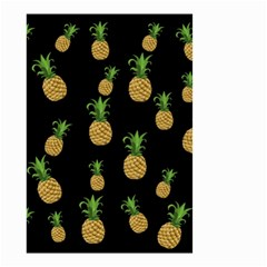 Pineapples Small Garden Flag (two Sides) by Valentinaart