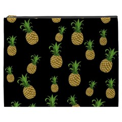 Pineapples Cosmetic Bag (xxxl)  by Valentinaart