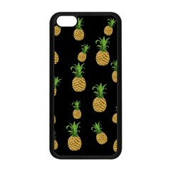 Pineapples Apple Iphone 5c Seamless Case (black) by Valentinaart