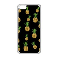 Pineapples Apple Iphone 5c Seamless Case (white) by Valentinaart