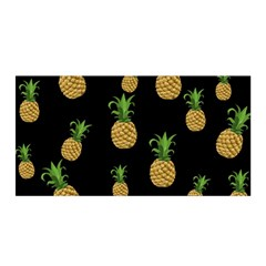 Pineapples Satin Wrap by Valentinaart