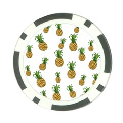 Pineapples Pattern Poker Chip Card Guard by Valentinaart