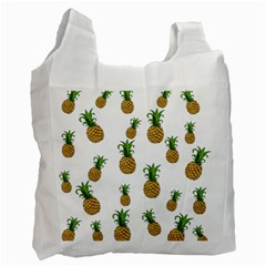 Pineapples Pattern Recycle Bag (two Side)