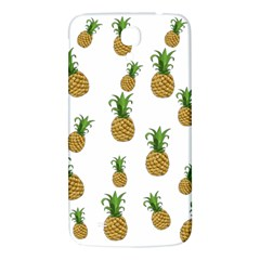 Pineapples Pattern Samsung Galaxy Mega I9200 Hardshell Back Case by Valentinaart