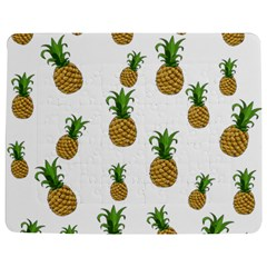 Pineapples Pattern Jigsaw Puzzle Photo Stand (rectangular) by Valentinaart