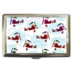 Airplanes pattern Cigarette Money Cases Front