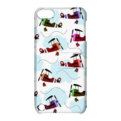 Airplanes Pattern Apple Ipod Touch 5 Hardshell Case With Stand by Valentinaart