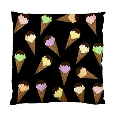 Ice Cream Cute Pattern Standard Cushion Case (two Sides) by Valentinaart