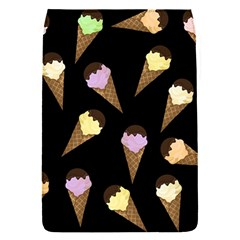 Ice Cream Cute Pattern Flap Covers (s)  by Valentinaart