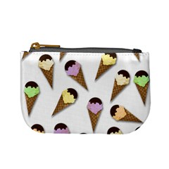 Ice Cream Pattern Mini Coin Purses by Valentinaart