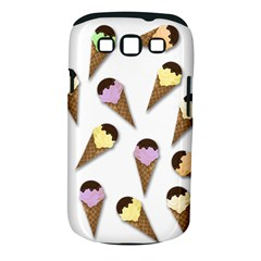 Ice Cream Pattern Samsung Galaxy S Iii Classic Hardshell Case (pc+silicone) by Valentinaart
