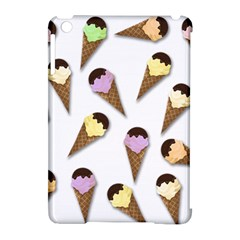 Ice Cream Pattern Apple Ipad Mini Hardshell Case (compatible With Smart Cover) by Valentinaart