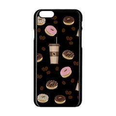 Coffee Break Apple Iphone 6/6s Black Enamel Case