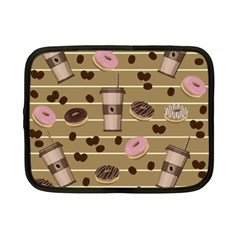 Coffee And Donuts  Netbook Case (small)  by Valentinaart