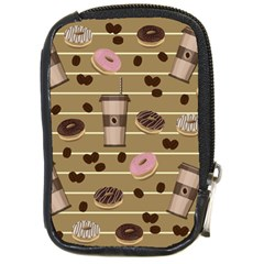 Coffee And Donuts  Compact Camera Cases by Valentinaart
