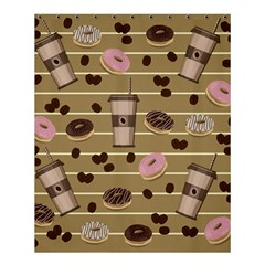 Coffee And Donuts  Shower Curtain 60  X 72  (medium)  by Valentinaart