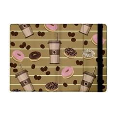 Coffee And Donuts  Apple Ipad Mini Flip Case by Valentinaart