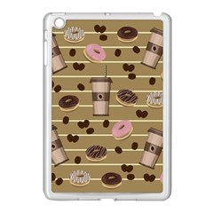 Coffee And Donuts  Apple Ipad Mini Case (white) by Valentinaart